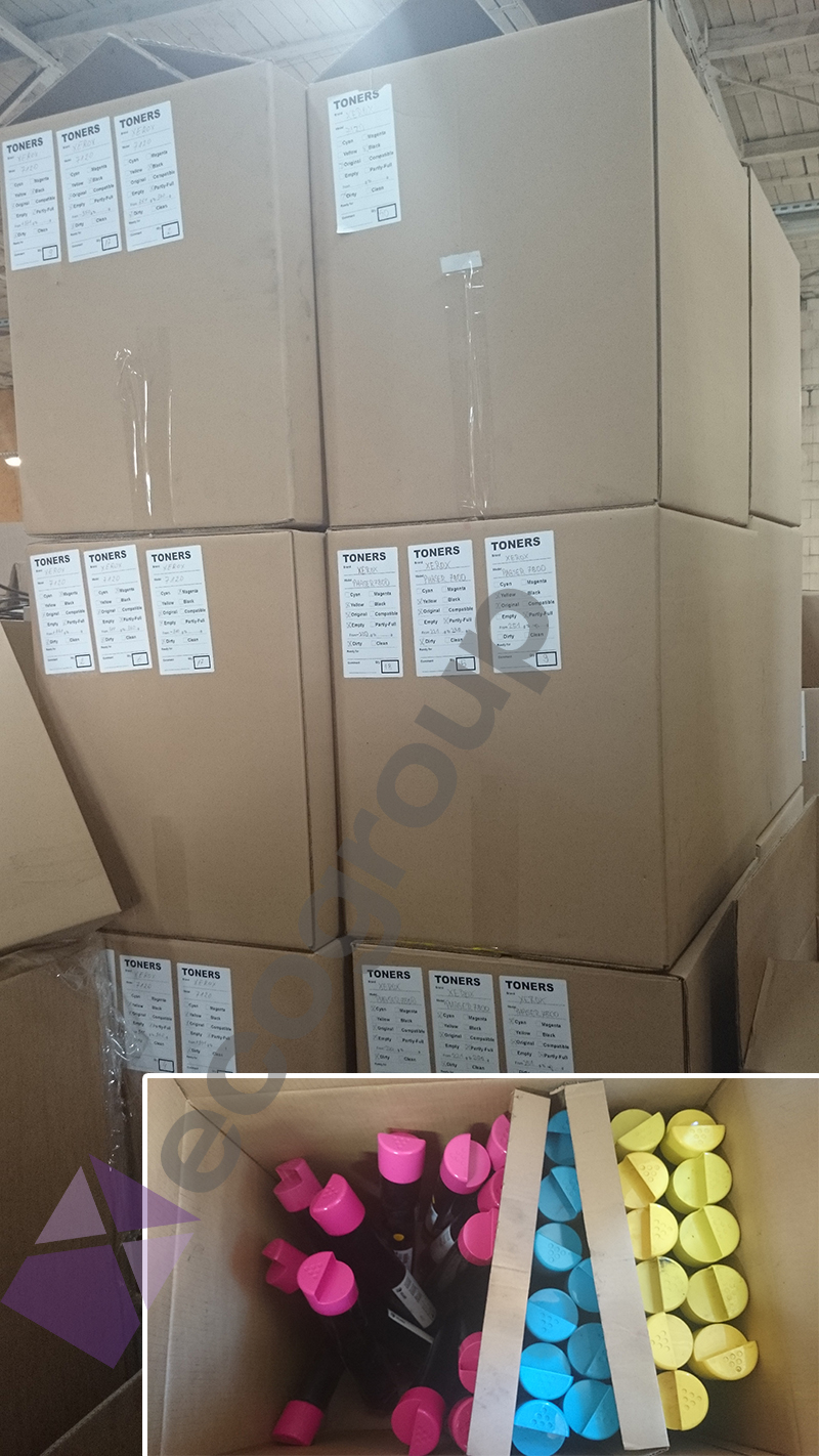 Wholesale original virgin empty toner cartridge, empty virgin toners, virgin cartridge - all brands available