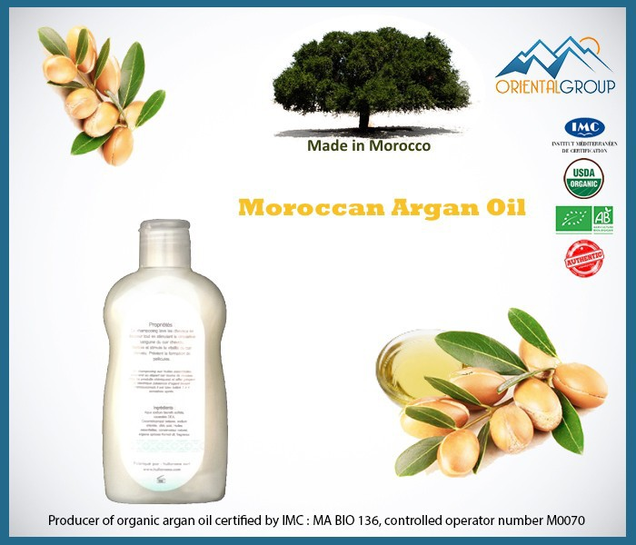 100 % natural Shampoo with Argan Oil