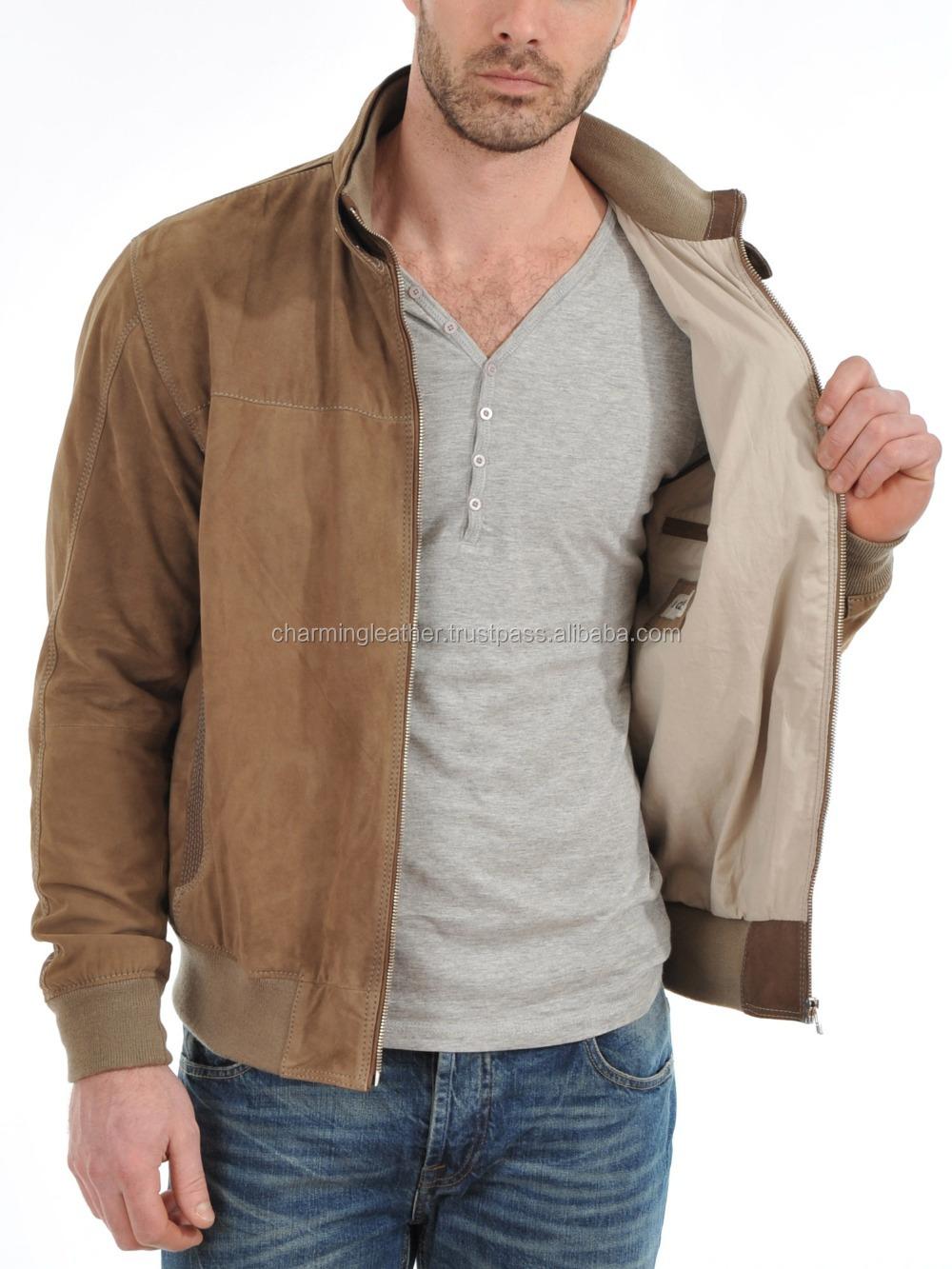 Leather jacket karachi - Stylish Collar Short Leather Jacket Mens 2015 New Style Leather Jacket High Quality Made