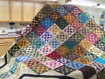 Indian Bed Quilt,King Size Bed Quilt. Multi Colored Bed Quilt ... : king size patchwork quilt - Adamdwight.com