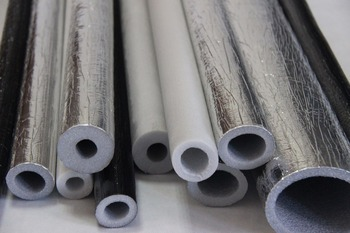 Polyethylene Insulation Pipes Laminated With Black Film,Pe Foam ...