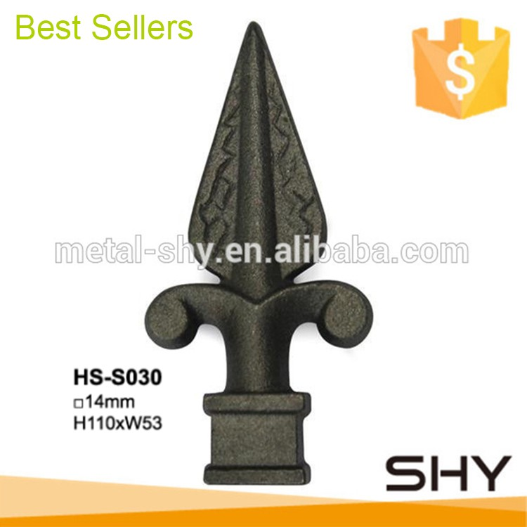 Decorative Ornamental Metal Cast Iron Fence Spearheads.jpg