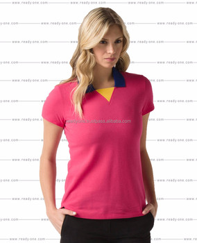 33652ac99ff Custom Embroidery Logo Women Polo Shirt,Pima Cotton Polo Shirt - Buy Custom  Logo Design Screen Printing Embroidery Economical Blank Women Female ...