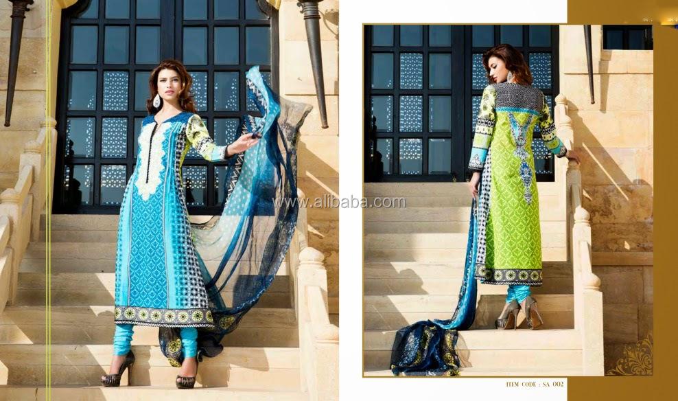 00734b1f44 Designer Punjabi suit material - Printed cotton dress material - Wholesale  Dress material cotton salwar kameez