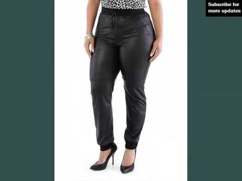 Leather Plus Size Pants For Plus Size Women | Picture Collection | Leather Plus Size Pants Romance