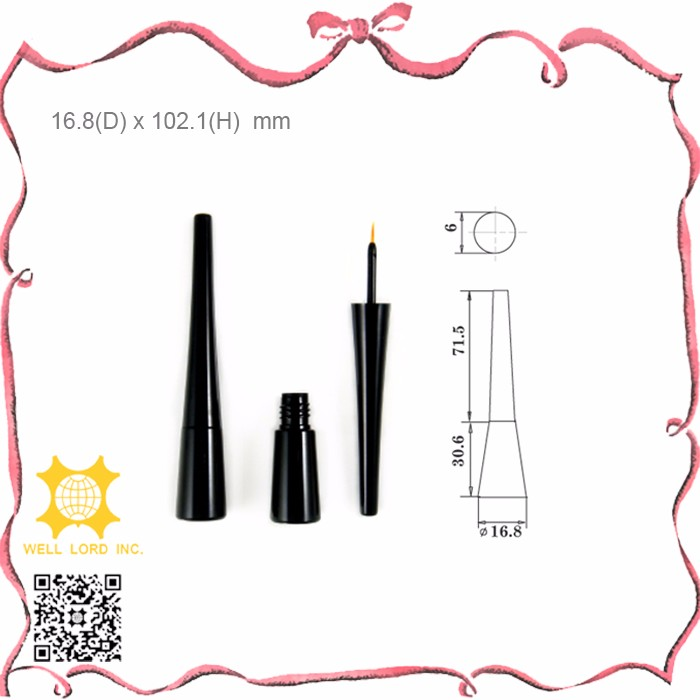 Fabulous product best sale wholesale cosmetic plastic black best waterproof eyeliner