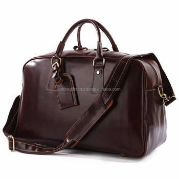 cfb38d465514 Genuine Leather Man's Tote Duffle Gym Shoulder Bags Carry On Camping Travel  Bag - Buy Men Leather Travel Bag,Best Travel Bags,Fashionable Travel Bags  ...