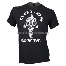 Basic t Shirt / Gold gym Custom printed t Shirt best quality Latest Arrival Wholesale t Shirt