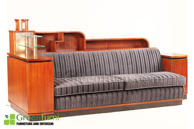 Living room Artdeco Lounge seat sofa furniture