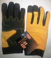 High Quality Synthetic Leather Mechanic Glove AP-044/Gardening Gloves/Safety Gloves/Working Gloves