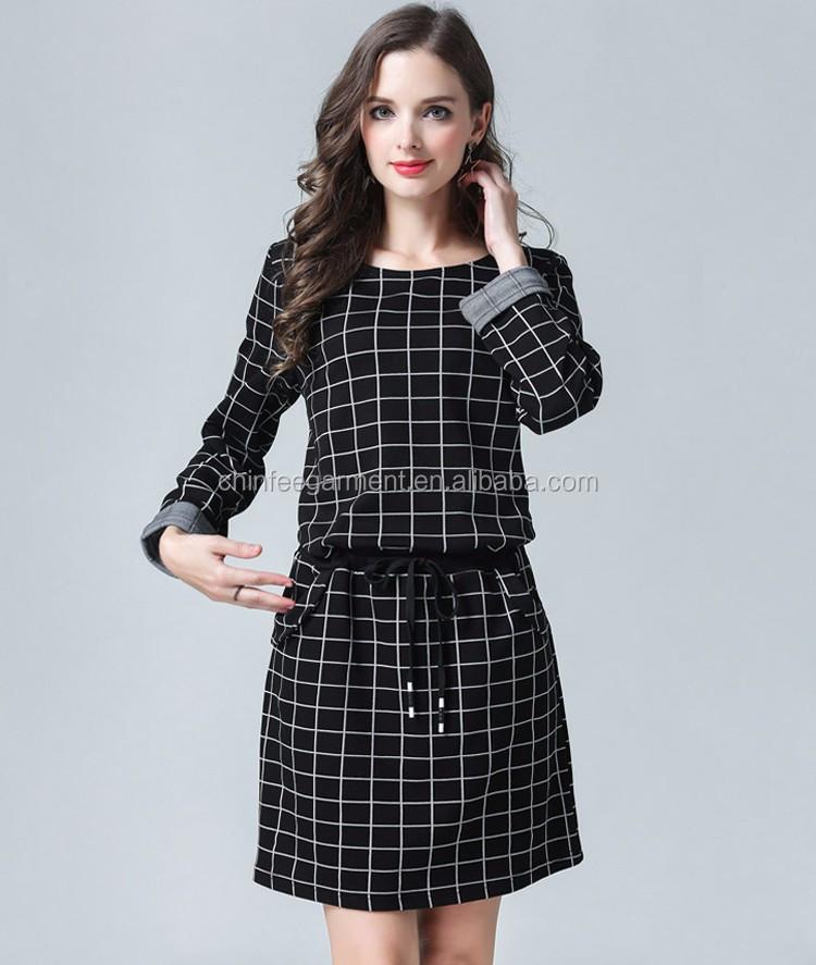 Nuevo Modelo De Invierno Casual Vestidos Para Mujeres Plus Tamaño 80 S Vestidos Buy Vestidos De Invierno Para Mujervestidos Casuales De Nuevo