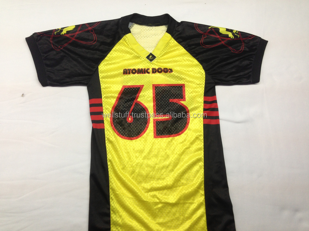 Football Jersey / American Football Jersey / Sublimation Printed ...