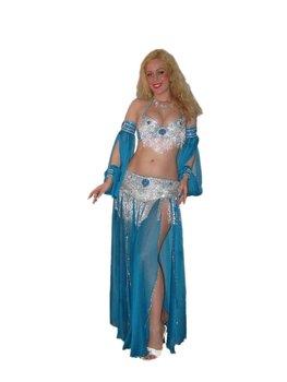 5e9dbbb461cea Egyptian PROFESSIONAL BELLY DANCE COSTUME Custom-Made bellydance Dress,  hand made belly dancing set