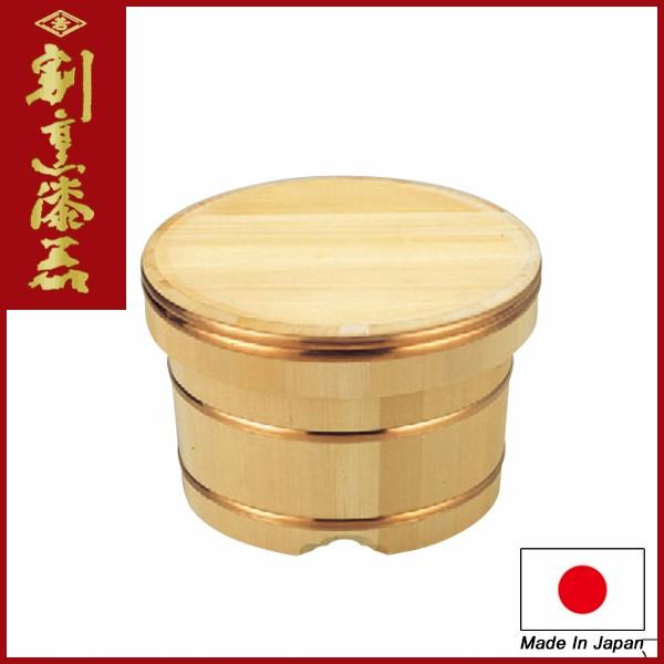 Japanese Sushi Tools Wooden Rice Tub / Ohitsu Edobitsu