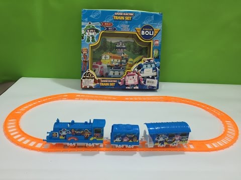 Robocar Poli Toys Train - Thomas and Friends # Kids Video