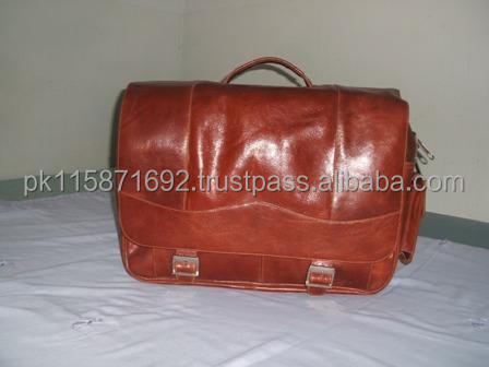 Genuine leather fahion business bag leather briefcase for men cow leather laptop bag