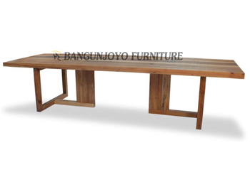 Thick Wood Slab 4 Seater Dining Table Design High Quality Solid Wood  Furniture