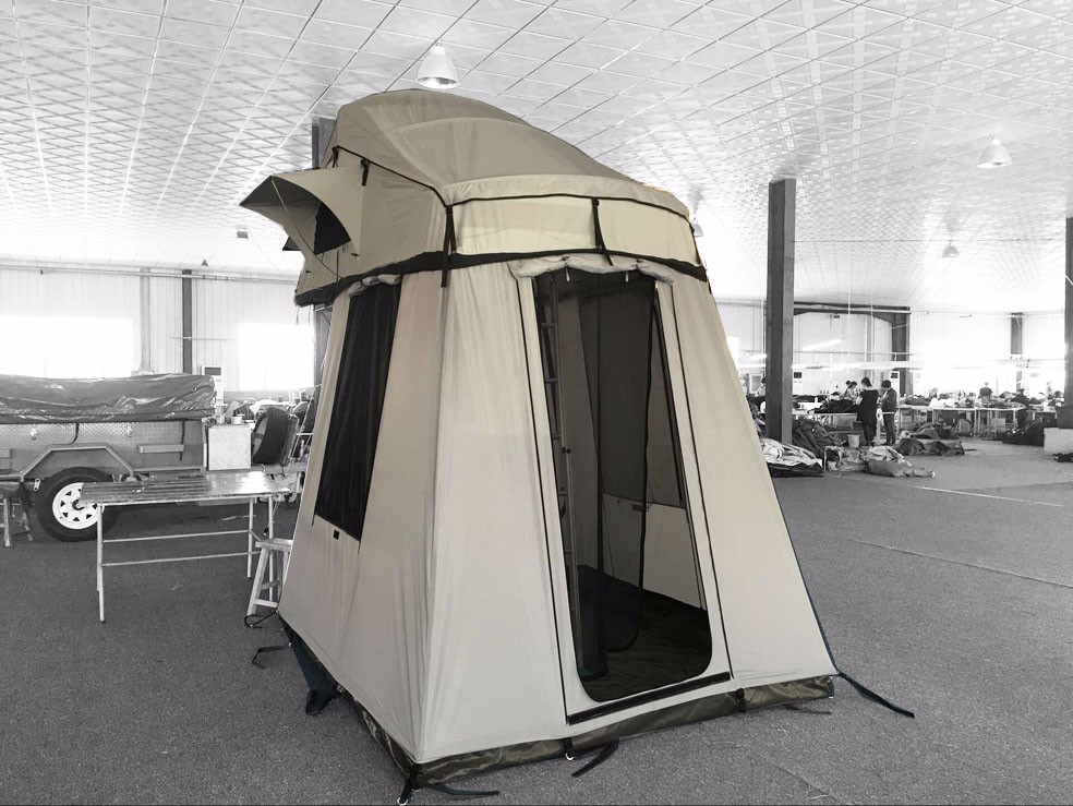 Portable Camper Awning : Overland with awning portable car roof top tent for sale
