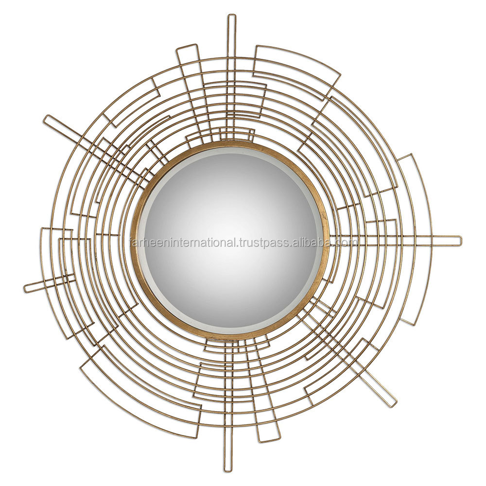 Wire capiz sunburst wall mirror - Wire Frame Mirror Wire Frame Mirror Suppliers And Manufacturers At Alibaba Com