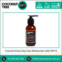 Hot Sale !! Coconut Oil Face Moisturiser with SPF15 for Good Face Care