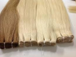 SUPER HIGH QUALITY VIRGIN HAIR SPECIAL BLONDE COLOR VIETNAMESE HUMAN HAIR EXTENSIONS