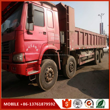 8*4 12tyres Red Paint Sinotruck howo truck,europe 3
