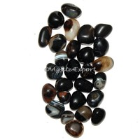 Black Onyx High Quality Tumbled Stones : Tumbled Stones Suppliers