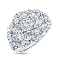 1.80CT 18K White Gold Diamond Ring Loose Diamonds Search Heart Rings Stores