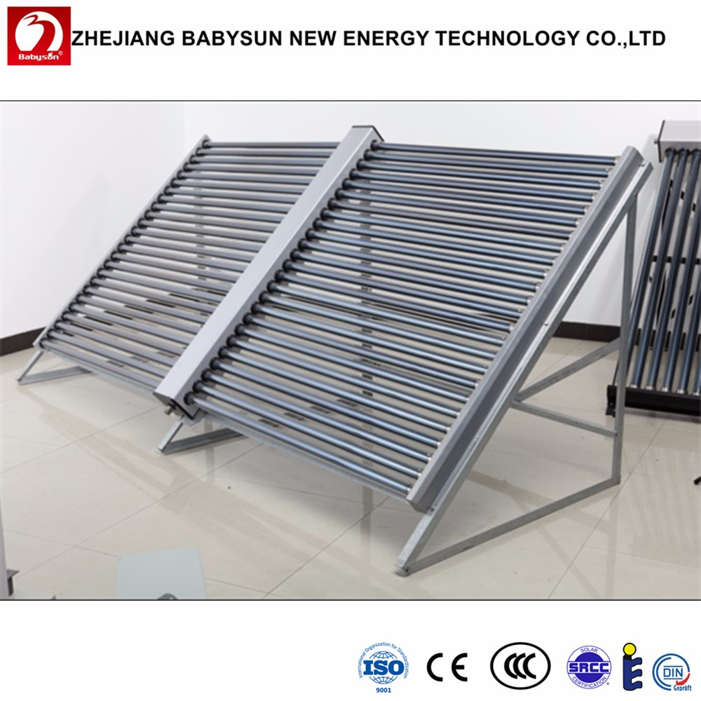 Parabolic Trough Solar Collector Water Heater: High Efficiency Solar Thermal Water Heater Parabolic
