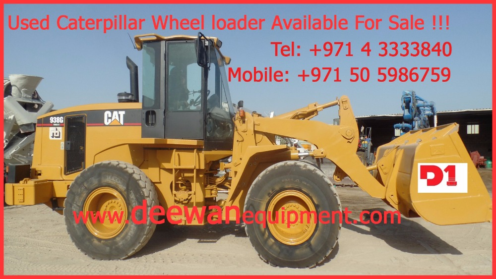 United Arab Emirates Caterpillar Wheel Loader, United Arab