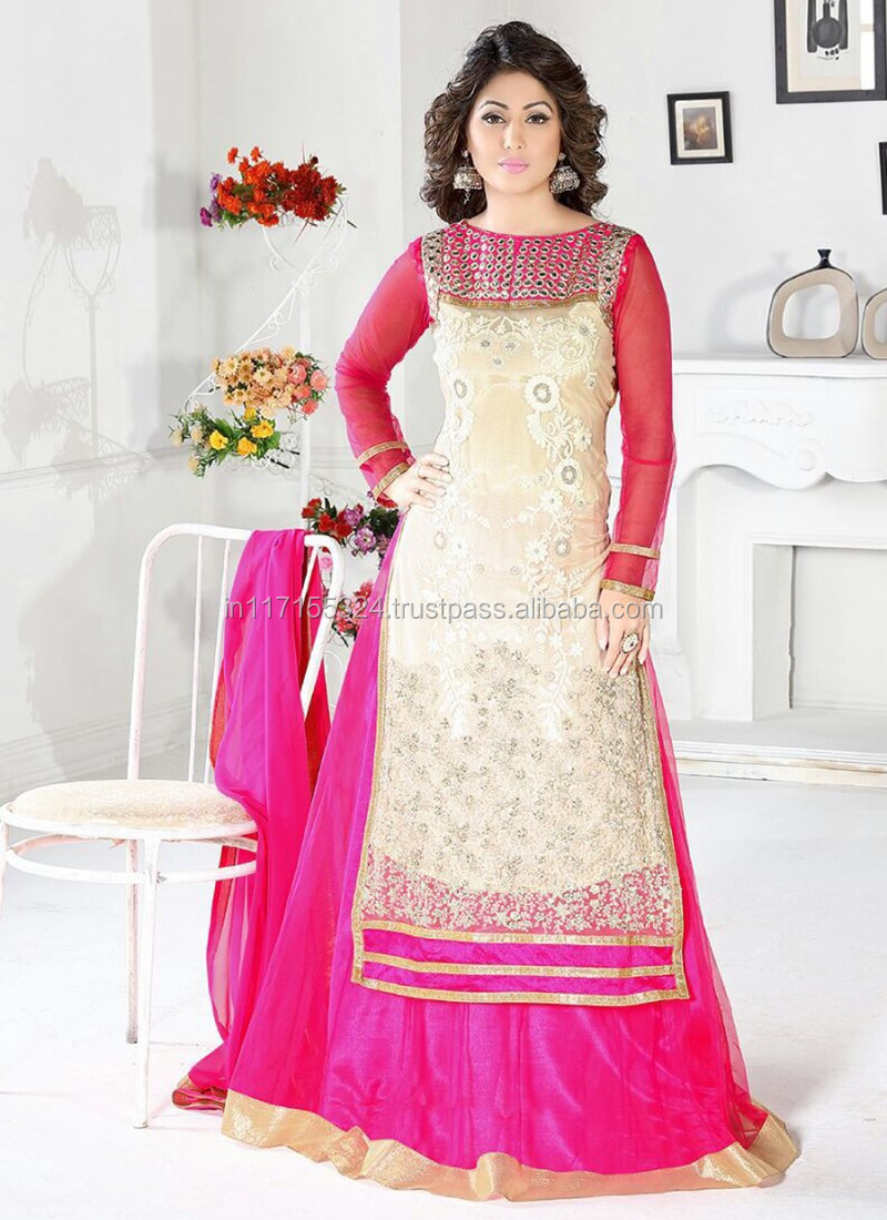 Heena Khan Long Design New Salwar Suits - Women Salwar Kameez ...