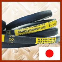 Various types of BANDO power transmission belt with excellent resilience and stretch