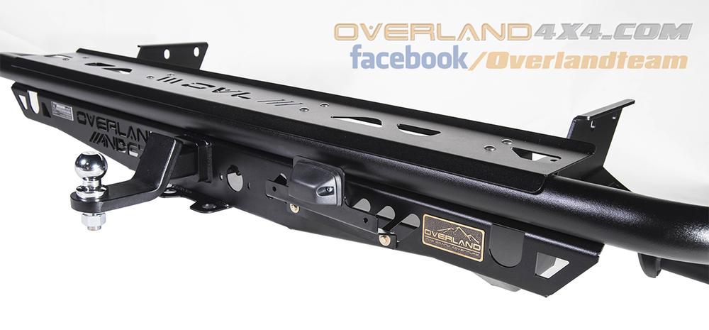 4x4 Accessories Rear Bumper Andez Series For Toyota Revo