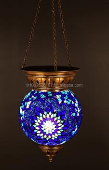 Mosaik Lampe, Kronleuchter, Bodenbelag Lampe, Pendelleuchte, Hängende  Beleuchtung, Marokkanische Laterne,
