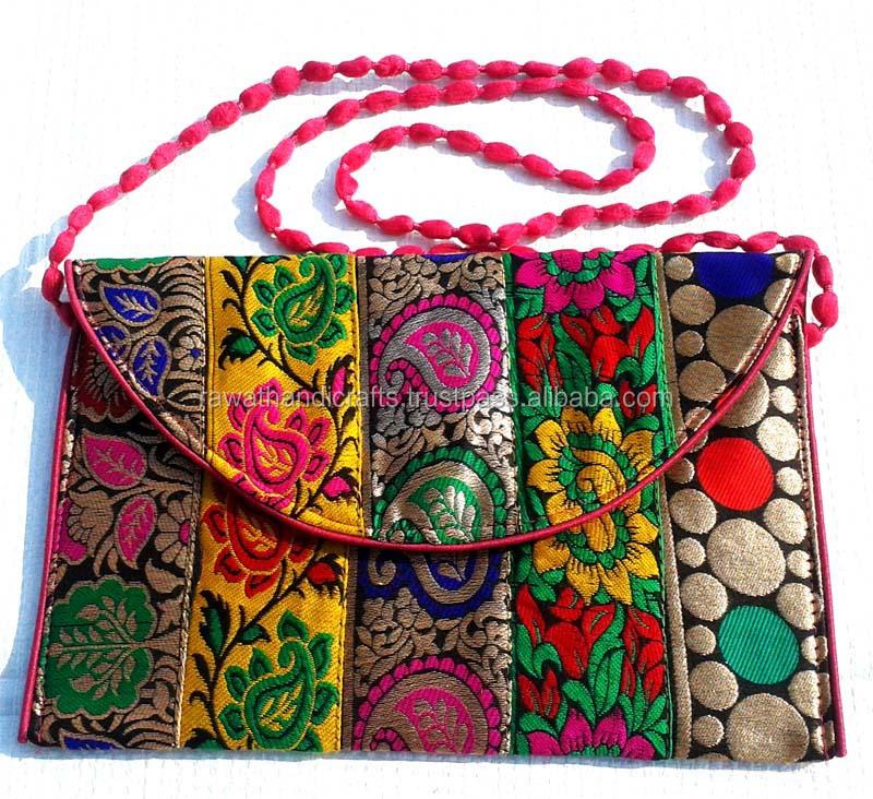 Ladies Bags Indian Ladies Hand Bags Handmade Embroidery Purse