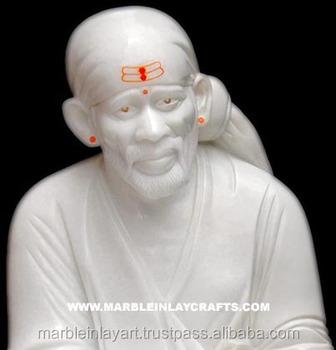Marble Shirdi Sai Baba God Sculpture - Buy Sai Baba Marble Murti,High  Quality Marble Sai Baba Statue,Indian Lord Sai Baba Marble Statue Product  on