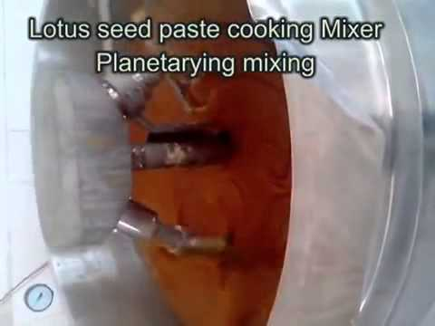 lotus seed paste cooker, Planetary mixer,Jam Cooker,Date paste cooker,
