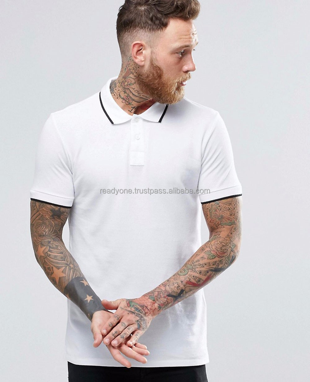 Fashion Fold Holder Mens Clothing Polyester Polo Shirt Polyester