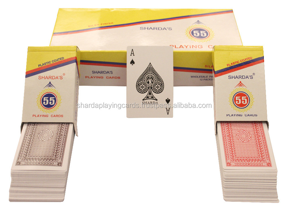 Sharda 555 premium playing cards