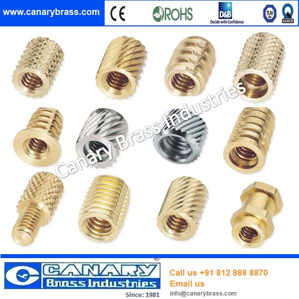 Different Types Of Brass M4 Steel Thread Insert