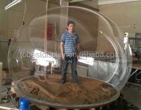 Transparent Plastic Sphere Clear Glass Sphere Clear Hollow