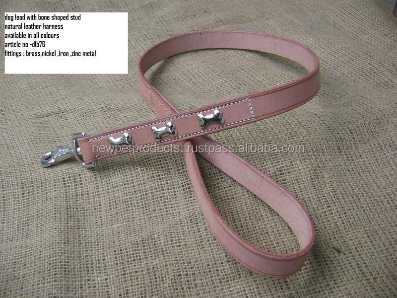 Wholesale Plain Chain High Quality Heavy Big Dog Leashes