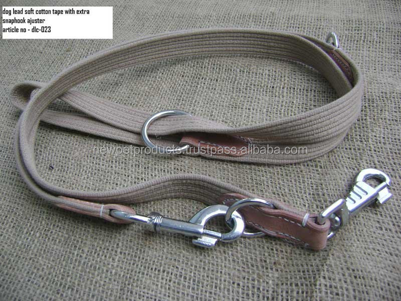 Golden Retriever Control Leather Dog Leash