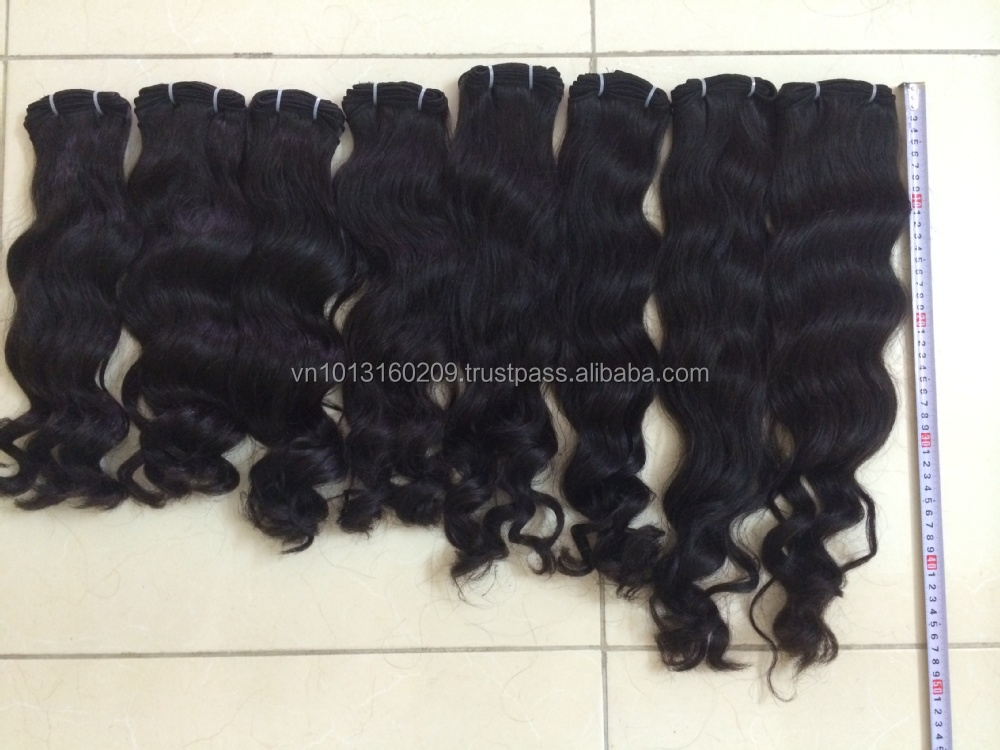 Body wavy hair texture group 7A best quality virgin remy human hair wefted