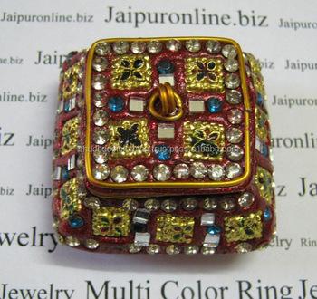 Beautiful Banjara Fancy Jewelry Box Made In India Lac Jewellery Box
