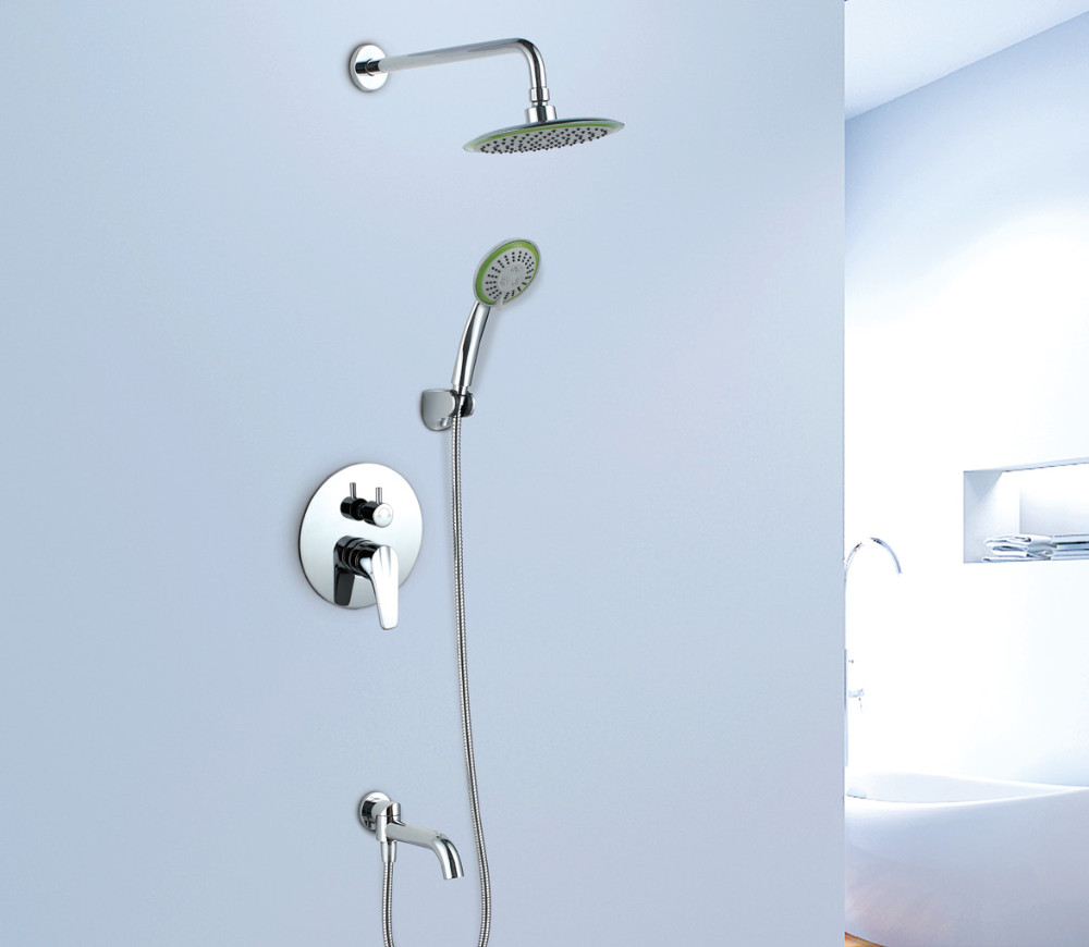 Chinese Sanitary Ware Manufacturers Concealed Chrome Brass Bathroom ...
