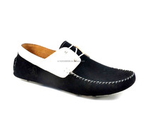Driving Shoes With Lace & Leather Combination EXCLUSIVE LATEST DESIGN - SHOE MANUFACTURER FOR MEN