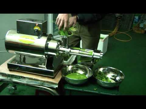 Masticating Juicers Super Stainless Steel Commercial Grade Wheatgrass