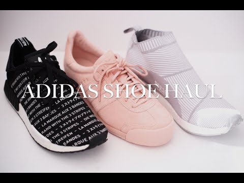 Get Quotations · ADIDAS SHOE HAUL NMD R1, NMD CITY SOCK, PIGSKIN SAMOA) |  Men&#