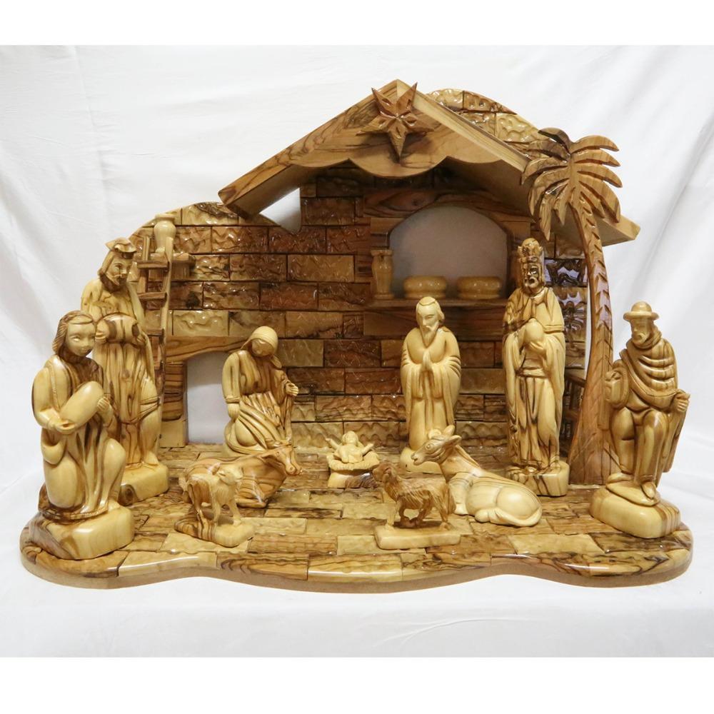 how to make a christmas nativity scene